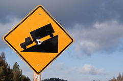 Steep Grade Sign Stock Images