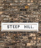 Steep Hill Royalty Free Stock Image
