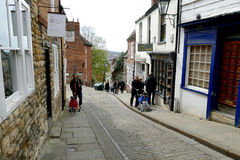 Steep Hill, Lincoln. Stock Photography