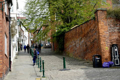 Steep Hill, Lincoln. Stock Photos