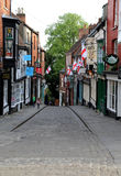 Steep hill lincoln royalty free stock photos