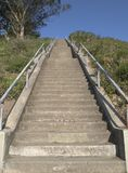 Steep Hillside Stairway Stock Images