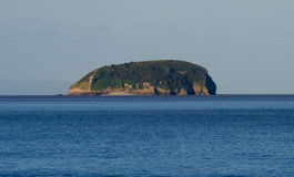 Steep Holm Island Bristol Channel Somerset. Near to Weston-super-Mare Royalty Free Stock Images