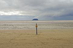 Steep Holm stock images