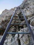 Steep ladder Stock Photo