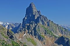 Steep mountain Royalty Free Stock Image