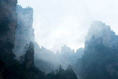 Steep mountain Stock Images