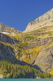 Steep Mountain Cill on a Sunny Fall Day Stock Image