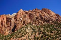 Steep mountain cliff Royalty Free Stock Photo