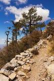 Steep mountain Stock Photo