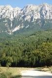 Steep mountains Stock Photo