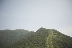 Steep mountian trail in Shenzhen Stock Photo