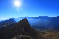 Steep peak Royalty Free Stock Image