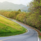 steep road Stock Photo