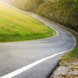 steep road Stock Photography