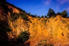 Steep Rock Face Cliff Stock Images