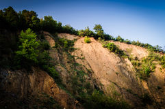 Steep Rock Face Cliff Stock Photo