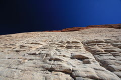 Steep rock at Red Rock Canyon in Las Vegas Stock Images