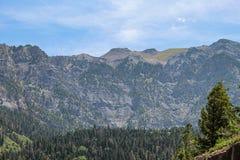 The Swiss Rockies stock photography