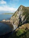 Steep sea cliff Royalty Free Stock Photos