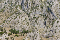 Steep slope of the mountain Royalty Free Stock Images