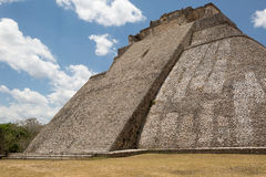 Steep stairs of Mayan temple Royalty Free Stock Photography