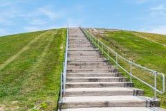 Free Steep Stairway Up Mount Trashmore In Virginia Beach Royalty Free Stock Photo - 99127285