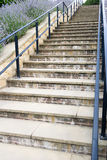 Steep Steps Royalty Free Stock Photo