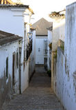 Steep steps in a backstreet in Tavira Portugal Stock Photography