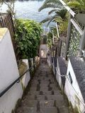 Staircase to the sea 1 royalty free stock photo