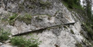 Steep track Stock Images