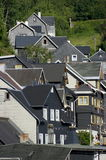 Steeper Tierberg. Telephoto shot from old houses, focal length 230mm Stock Photography