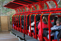 Steepest incline railway Royalty Free Stock Image