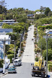The Steepest Street Royalty Free Stock Photography