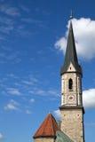 steeple баварской церков исторический Стоковое Фото