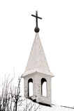 steeple страны церков старый Стоковое Изображение RF