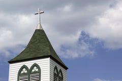 steeple страны Стоковое Изображение