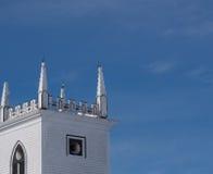 steeple церков стоковые фотографии rf