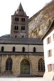 Steeple часовни на аббатстве St Мориса стоковое фото rf