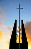 steeple веры церков Стоковая Фотография