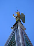 Steeple bell tower of St. Mark's in Venice, Italy. Stock Images