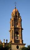 Steeple Bels San Miguel México da igreja Fotografia de Stock Royalty Free