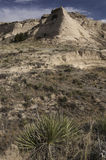 Steeple Butte on the Pawnee National Grassland Royalty Free Stock Photo