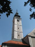 Steeple Cathedral Royalty Free Stock Photography