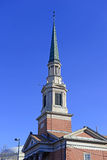 Steeple of Church, Denver, Colorado. USA Stock Photography