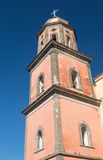 Steeple of the church of Santa Maria a Cheia, Vico Equense, Napl Royalty Free Stock Image