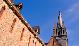 Steeple of Cistercian Monastery  Royalty Free Stock Photos