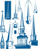 Steeple Collection Stock Photos