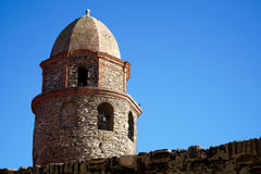 Steeple of Collioure Royalty Free Stock Photo