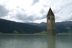 Torre da igreja Fotografia de Stock